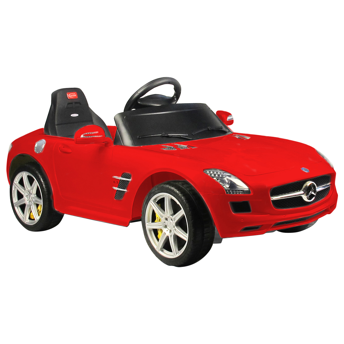 Mercedes-Benz SLS AMG Licensed 6V Kids Ride On Car MP3 RC Remote Control