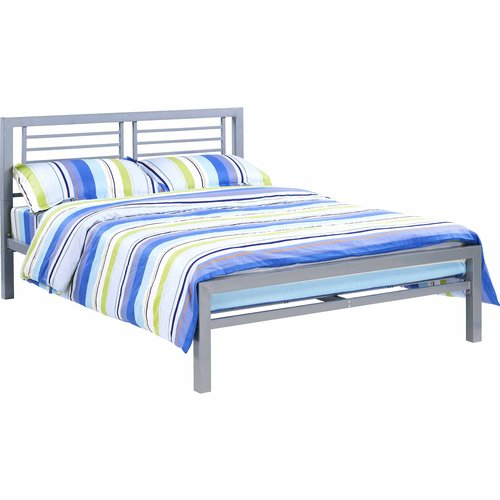 YourZone Metal Bed Frame, Full Size, Multiple Colors