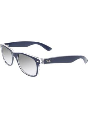 Ray-Ban Men's RB2132 Square Sunglasses - Size - 55 (Gradient Grey Polar)