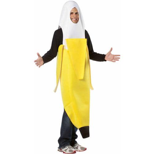 Peeled Banana Adult Halloween Costume