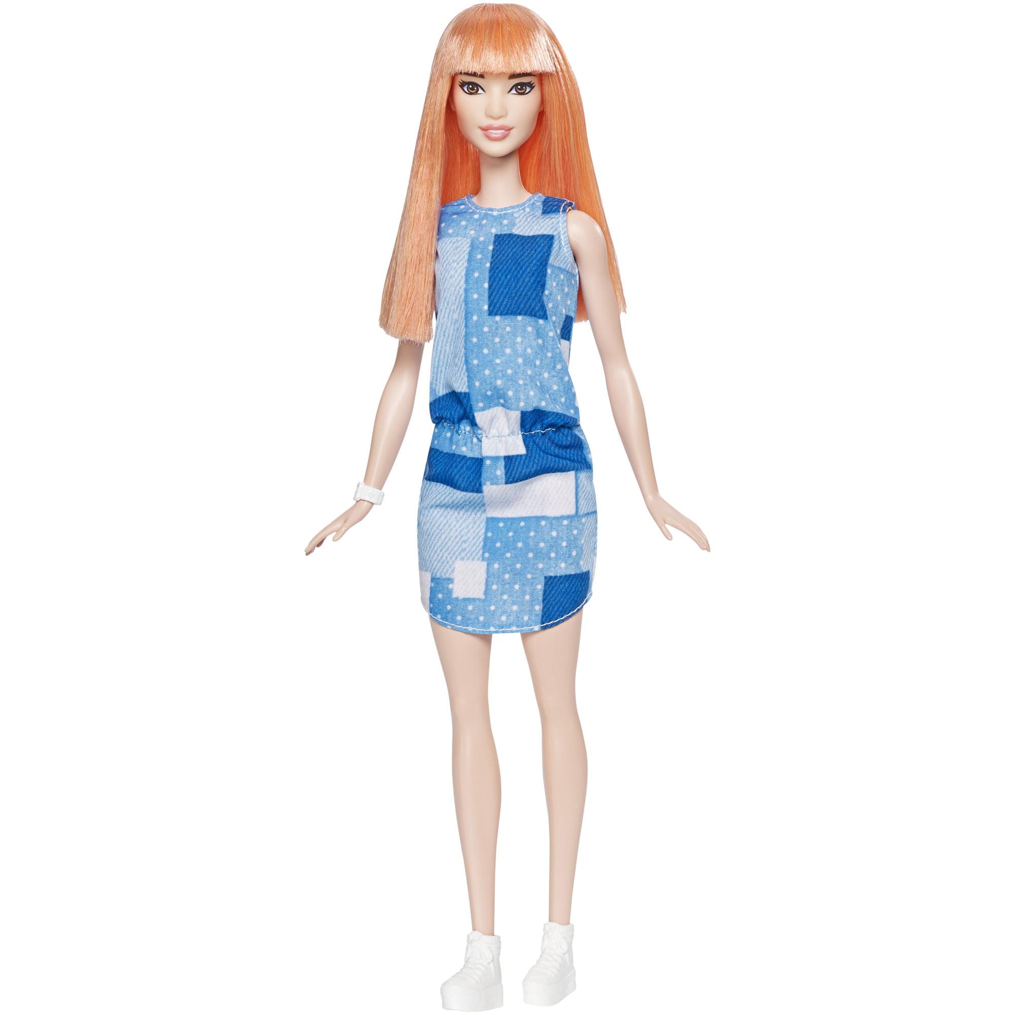 Barbie Fashionistas Original Doll 60 Patchwork Denim