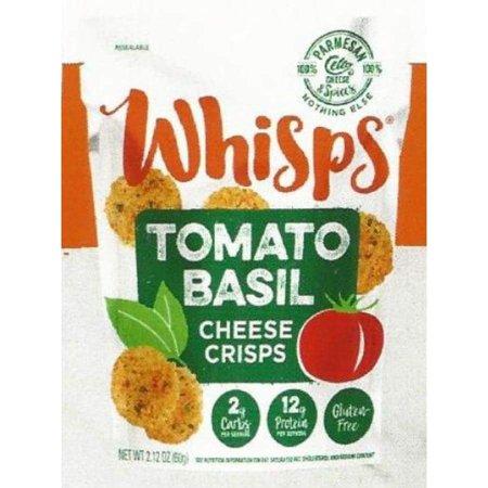 Cello Whisps Cheese Crisps - Tomato Basil Parmesan (2.12oz) (Halloween Food Ideas Cheese Ball)