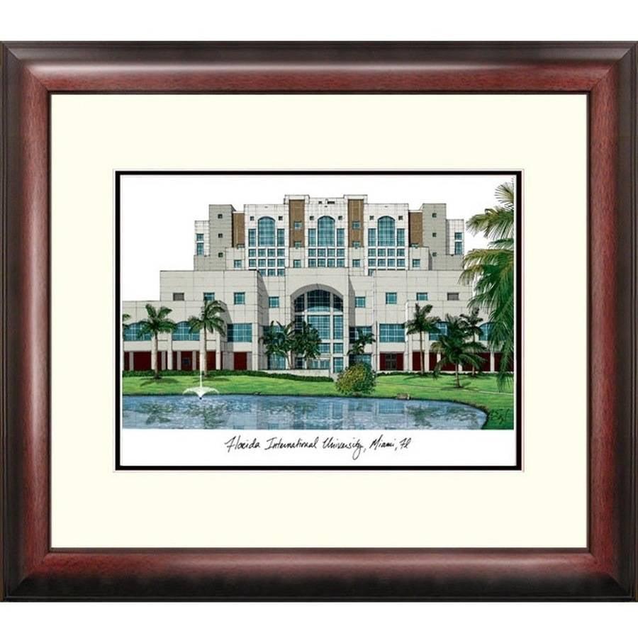 Florida International University Alumnus Framed Lithograph