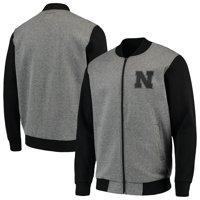 Nebraska Cornhuskers G-III Sports by Carl Banks Midfield Transitional Full-Zip Jacket - Gray/Black