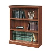 Camden County 3 Shelf Bookshelf in Planked Cherry Finish