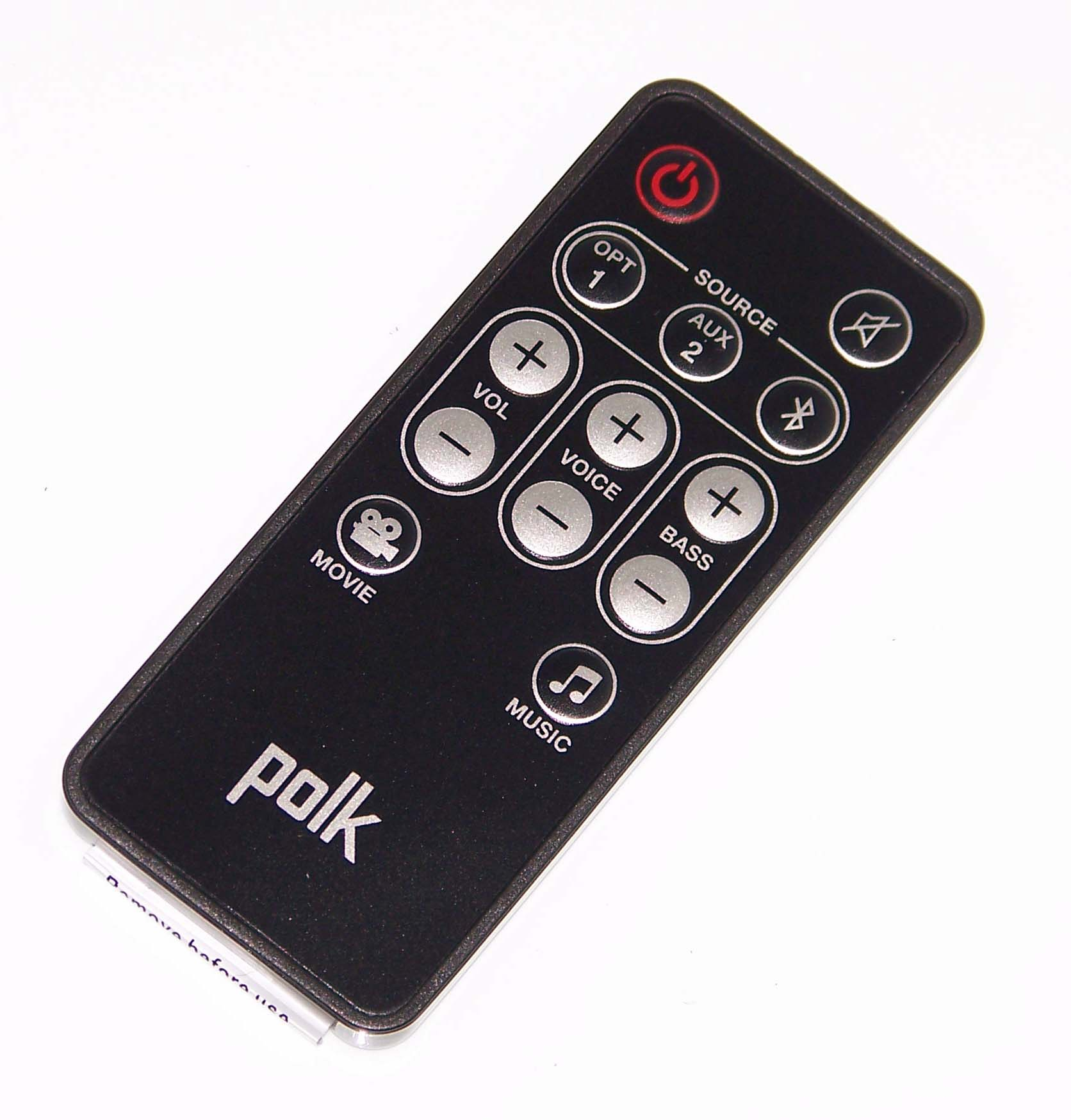 OEM Polk Remote Control Originally Shipped With: MagNIFI, MagNIFI Soundbar by Polk%27s Meat