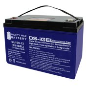 12V 100AH GEL Battery Replacement for Dynasty CD Dynasty DCS-88BT