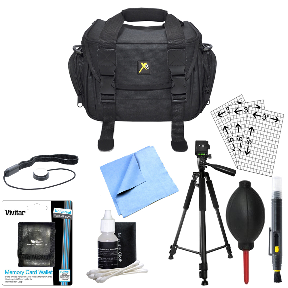 "Special Essential Accessory Kit 60"" Tripod Lens Cleaning Kit & Pen Canon Nikon Sony EOS REBEL Alpha... by Special"
