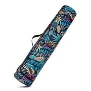 Binduo Printed Gym Carry Bag Outdoor Sports Training Fitness Yoga Mat Workout Backpack