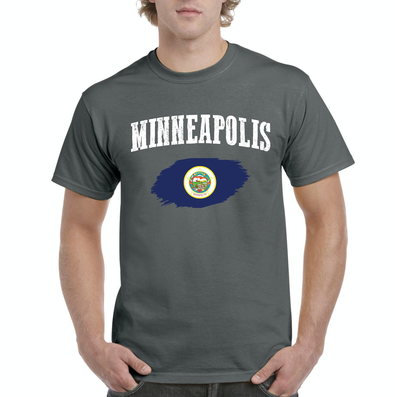 Minnesota Represent Kids T-shirt Minneapolis St Paul Baby Toddler Youth Tee