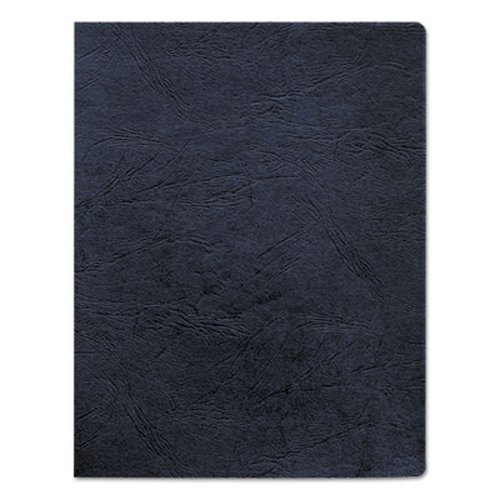 Fellowes Classic Grain Texture Binding System Covers, Navy, 200 Pack (FEL52136) by