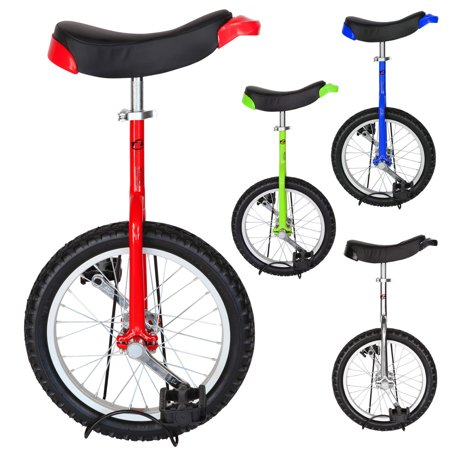 T4B FREESTYLE UNICYCLE 16-Inch Wheel - Leakproof Butyl Wheel Tire - Outdoor Sports Fitness Exercise Health - image 8 de 8