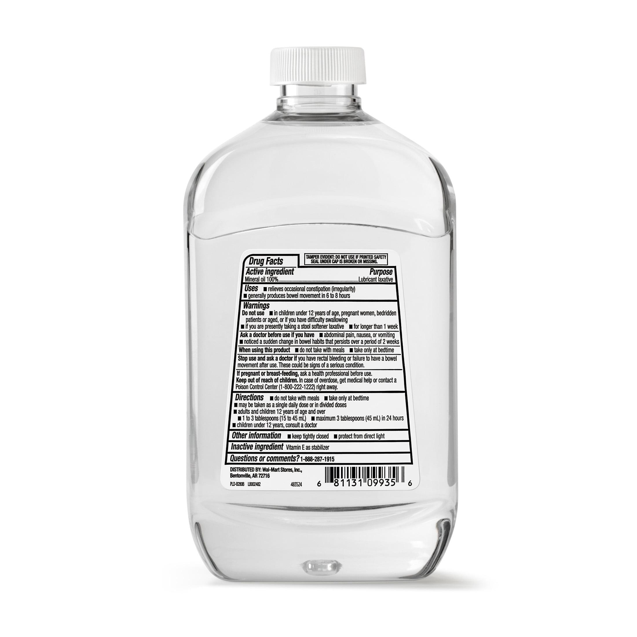 Equate Mineral Oil Lubricant Laxative, 16 fl oz