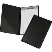 Samsill Compact Size Vinyl Pad Holder, Black, 1 Each (Quantity)