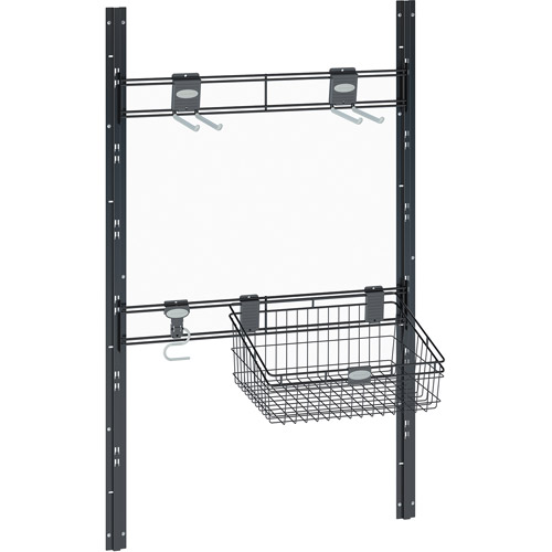 Bracket, Hook and Basket Kit for Suncast Sierra and Everett Sheds