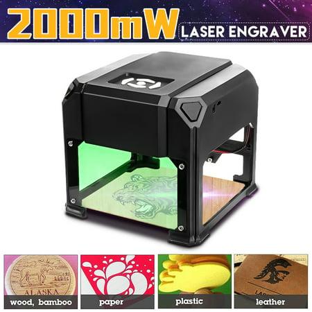 2000mW USB Desktop Laser Engraving Machine Mark Logo Marking Engraver Carver