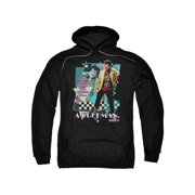 Pretty In Pink A Duckman Mens Pullover Hoodie