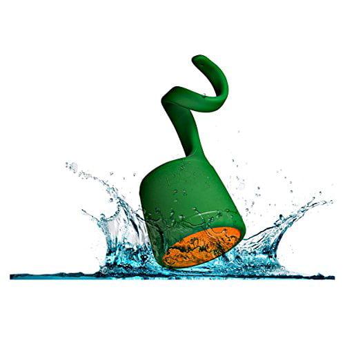 BOOM Swimmer DUO - Dirt, Shock, Waterproof Bluetooth Speaker with Stereo Pairing (Green)