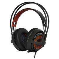 SteelSeries Siberia 350 Wired 7.1 Gaming Headset - Black/Orange 51202 - Refurbished