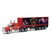 Diecast Kenworth Elvis Truck - The Blue Suede 1:32 Scale Multi-Colored