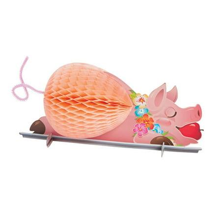 Fun Express 13638959 Luau Pig Tissue Centerpiece](Luau Pig)