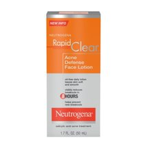 Facial Moisturizer: Neutrogena Rapid Clear Acne Defense Face Lotion