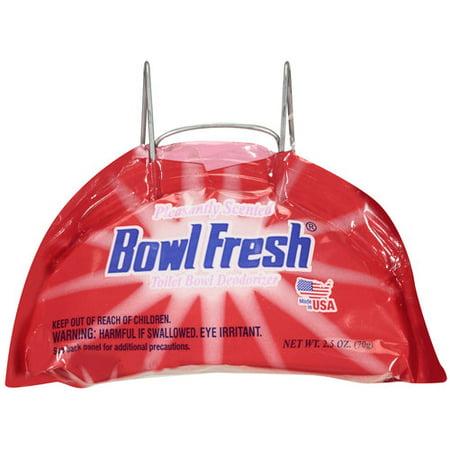 Bowl Fresh Toilet Deodorizer 1ct Walmart Com