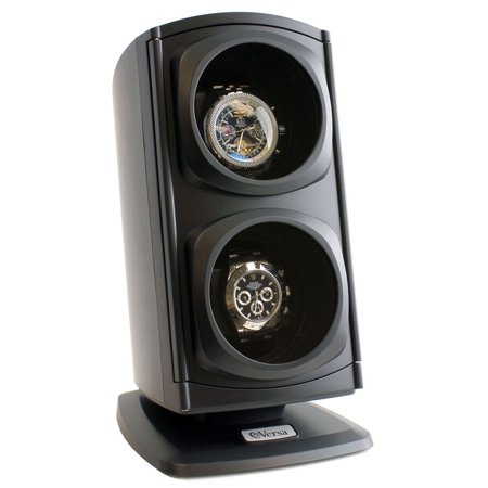 Versa Automatic Double Watch Winder - Black