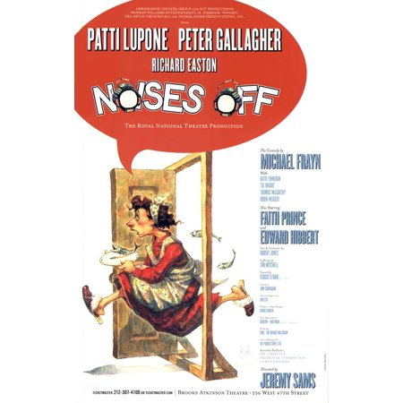 Noises Off ( Broadway ) POSTER Mini Promo - Halloween Noises Soundboard