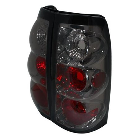 Spec-D Tuning LT-SIV03G-TM Altezza Tail Light for 03 to 06 Chevrolet Silverado, Smoke - 10 x 12 x 18
