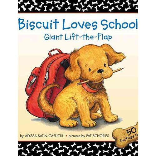 Biscuit Loves School: Giant Lift-the-flap