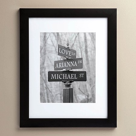 Personalized Framed Print - Signs Of Love 11