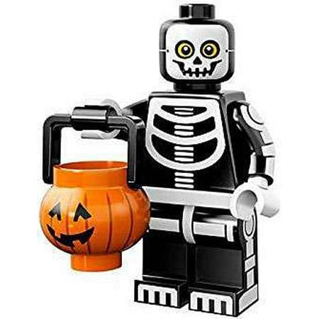 LEGO Series 14 Skeleton Guy with Pumpkin Basket - Lego Halloween Pumpkin
