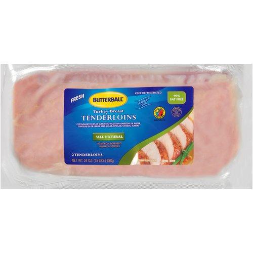 Butterball Turkey Breast Tenderloins, 2 ct, 1.5 lb