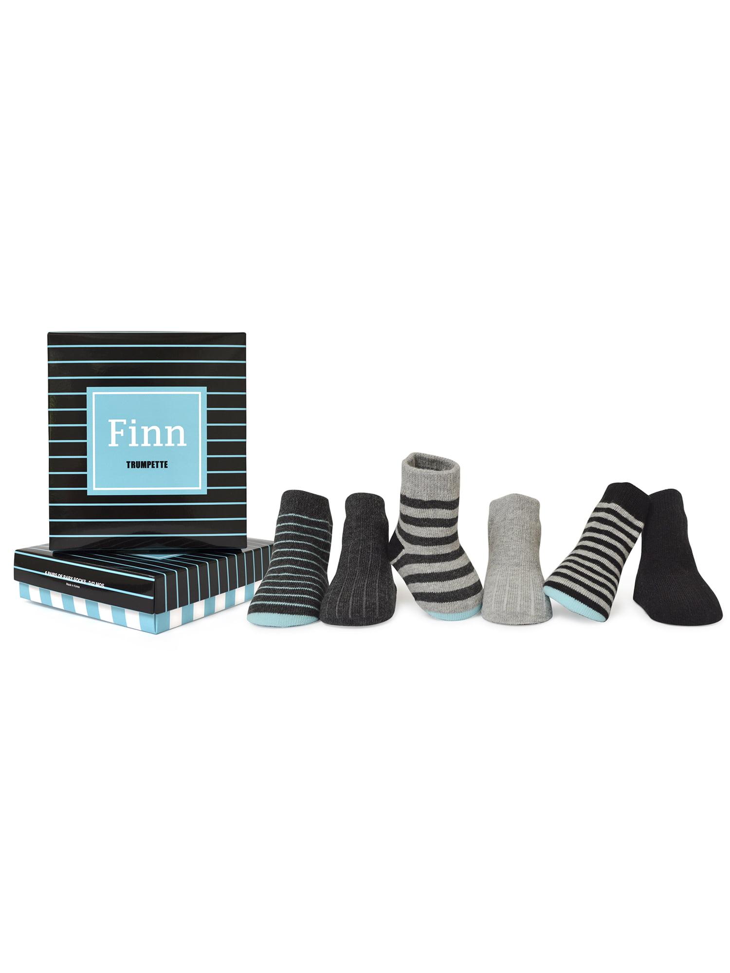 Baby Boys' Finn Socks 6-pack (0-12 mo.)