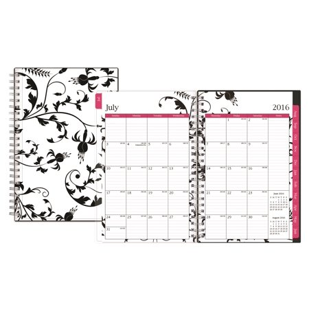 Blue Sky Analeis/Kiley 5x8 Weekly/Monthly Wire-O Planner