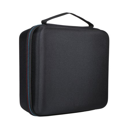 External Hard Drive Disk Case EVA Case for 3.5in HDD with Mesh Pocket and Soft Inner Fabric Carrying Case for Travel and Office Use - image 6 of 7