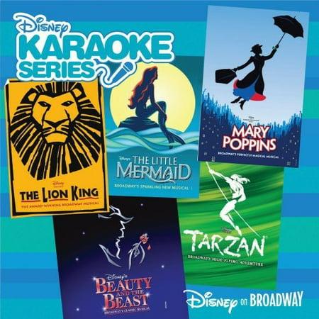 Disney's Karaoke Series: Disney On Broadway](Disney Halloween Sound Effects Record)