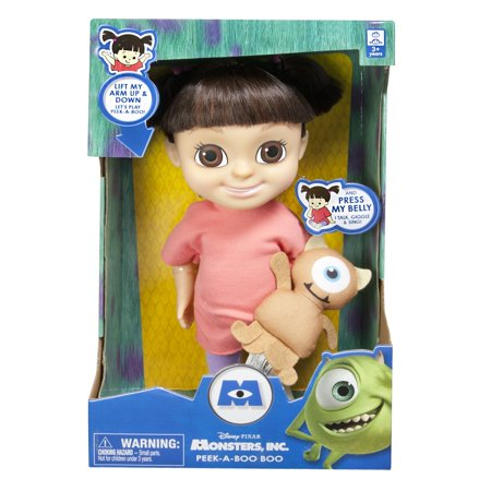 Monsters, Inc. Peek-A-Boo Boo Feature Doll (Monsters Inc Boo Doll)