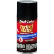 Krylon BCC0427 Perfect Match Automotive Paint, Chrysler Brilliant Black Pearl, 8 Oz Aerosol Can