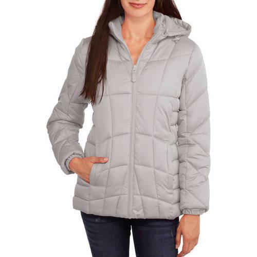 Women's Hooded Puffer Jacket Coat