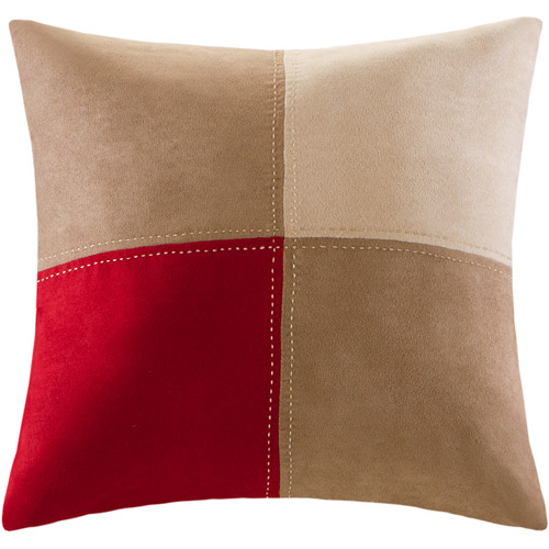 Mainstays Boulder Stripe Collection Square Decorative Pillow