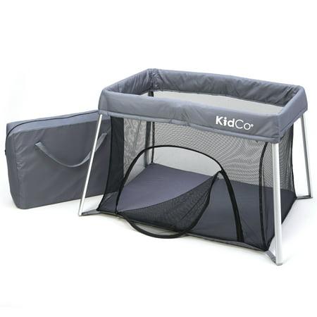 KIDCO TR3011 Gray KIDCO TRAVELPOD PLUS TRAVEL PLAY YARD GRAY 42.5 X 29.5 X 27