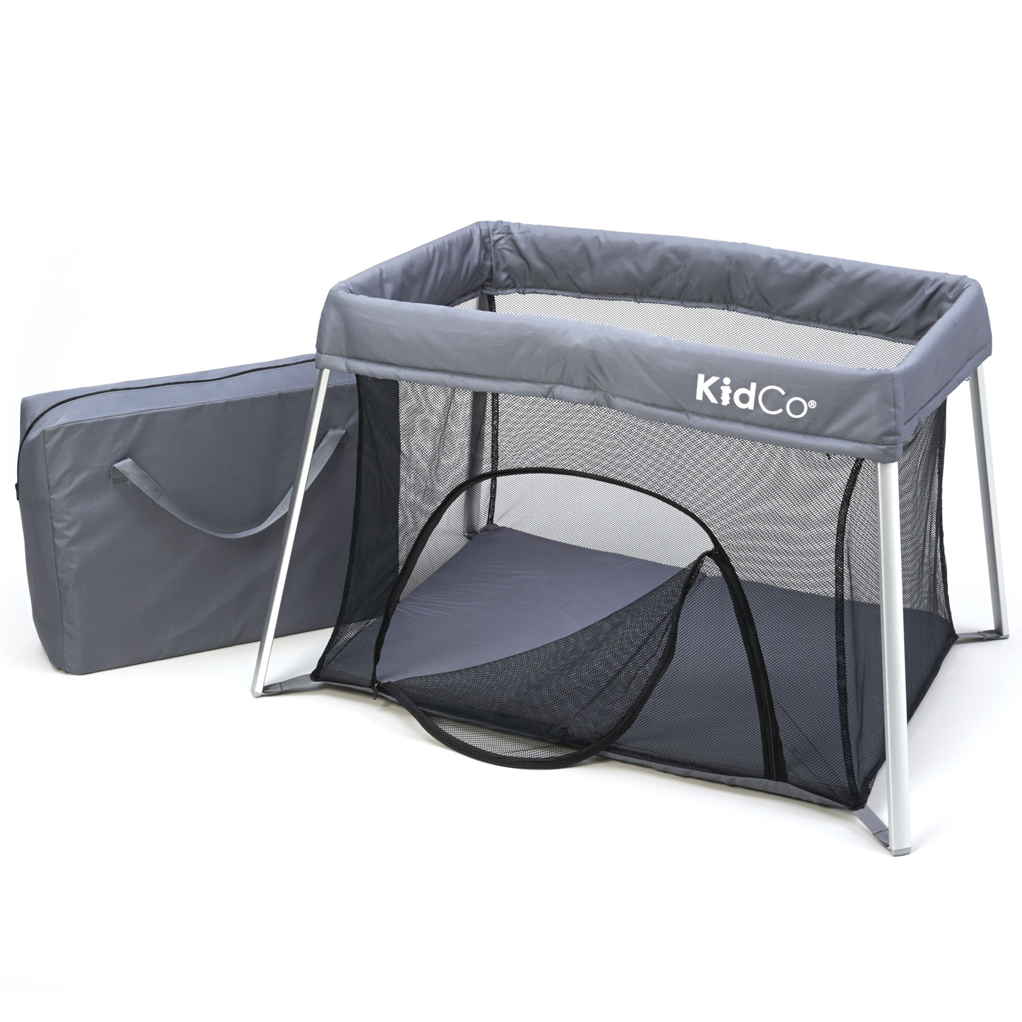 KIDCO TR3011 Gray KIDCO TRAVELPOD PLUS TRAVEL PLAY YARD GRAY 42.5 X 29.5 X 27