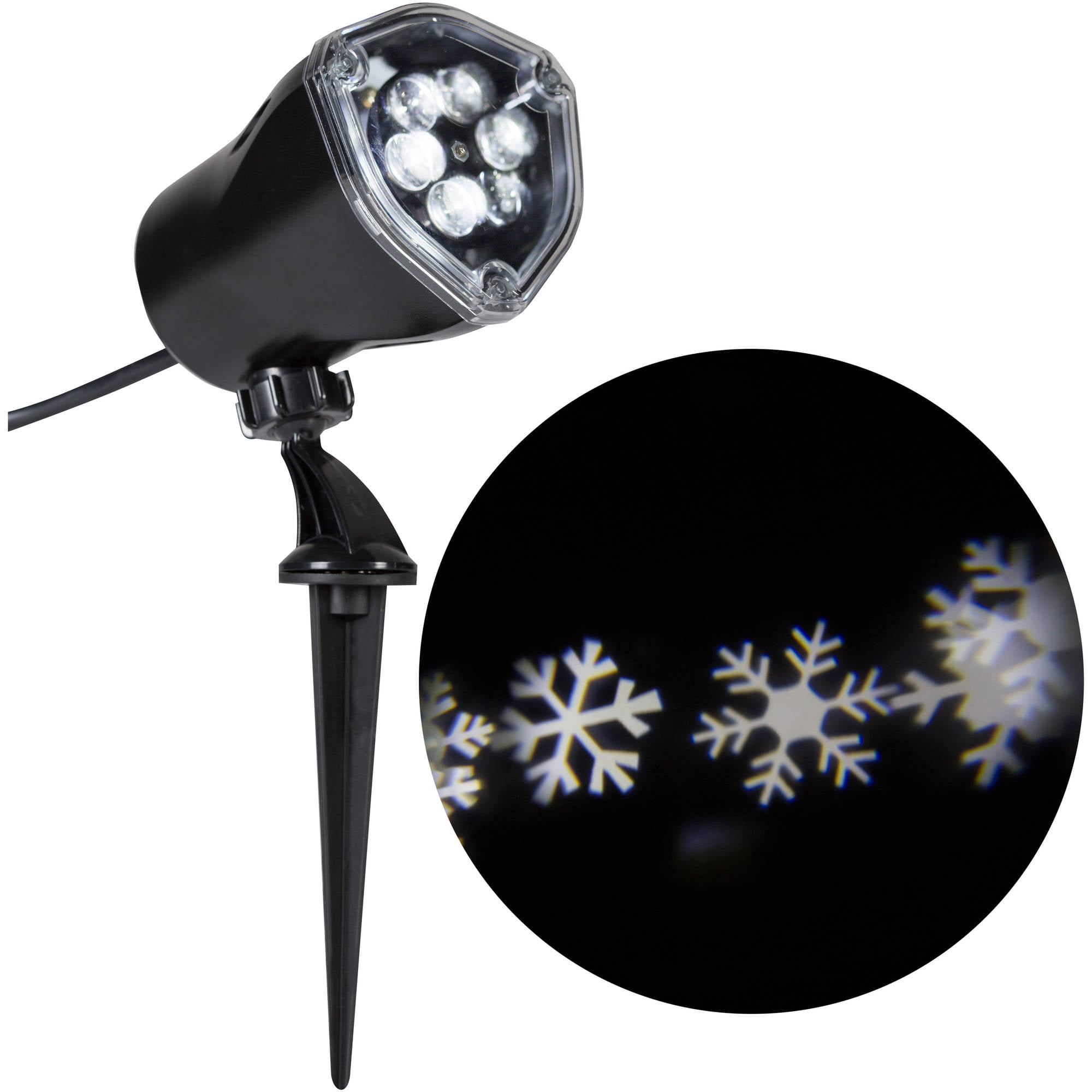 Gemmy Lightshow Christmas Lights LED Projection Kaleidoscope ...