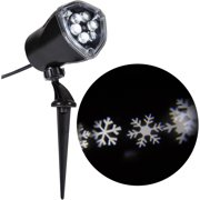 Gemmy Lightshow Christmas Lights LED Projection Snow Flurry Lights, White