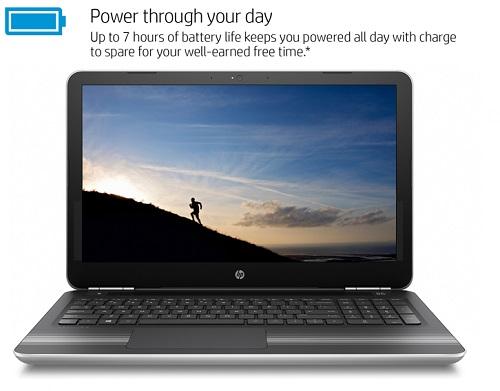 "HP Pavilion 15-Au000Nr 15.6"" Laptop, Touchscreen, Windows 10 Home, Intel Core i5-6200U Dual-Core... by HP"