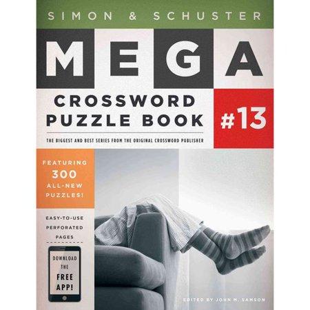 Simon and Schuster Mega Crossword Puzzle Book