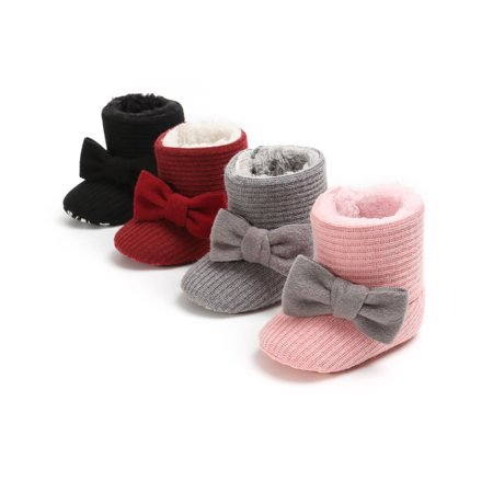 Supper Warm Baby Boots Winter Baby Infant Cotton Boots Shoes Babys Walking Shoes Cat Walking Boots