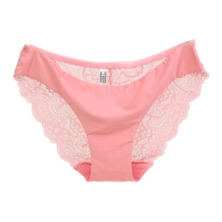 5b3bc62d6 ELENXS - Women Ladies Lace Underwear Seamless Panties Sexy Knickers Ladies  Comfort Cotton Briefs Triangle thong - Walmart.com